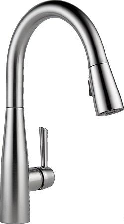 Delta Faucet Essa Kitchen Sink Faucet, Single-Handle
