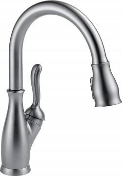 Delta Faucet Leland Kitchen Sink Faucet, Single-Handle